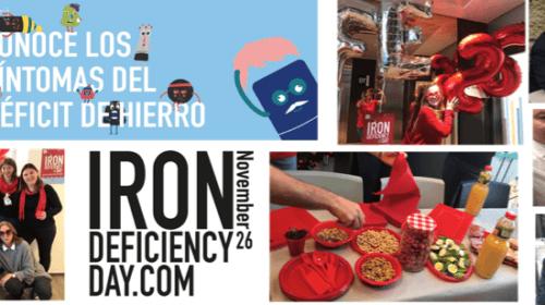 """Celebrando el 26 de noviembre, día del déficit de hierro, con un desayuno """"RICO EN HIERRO""""."""
