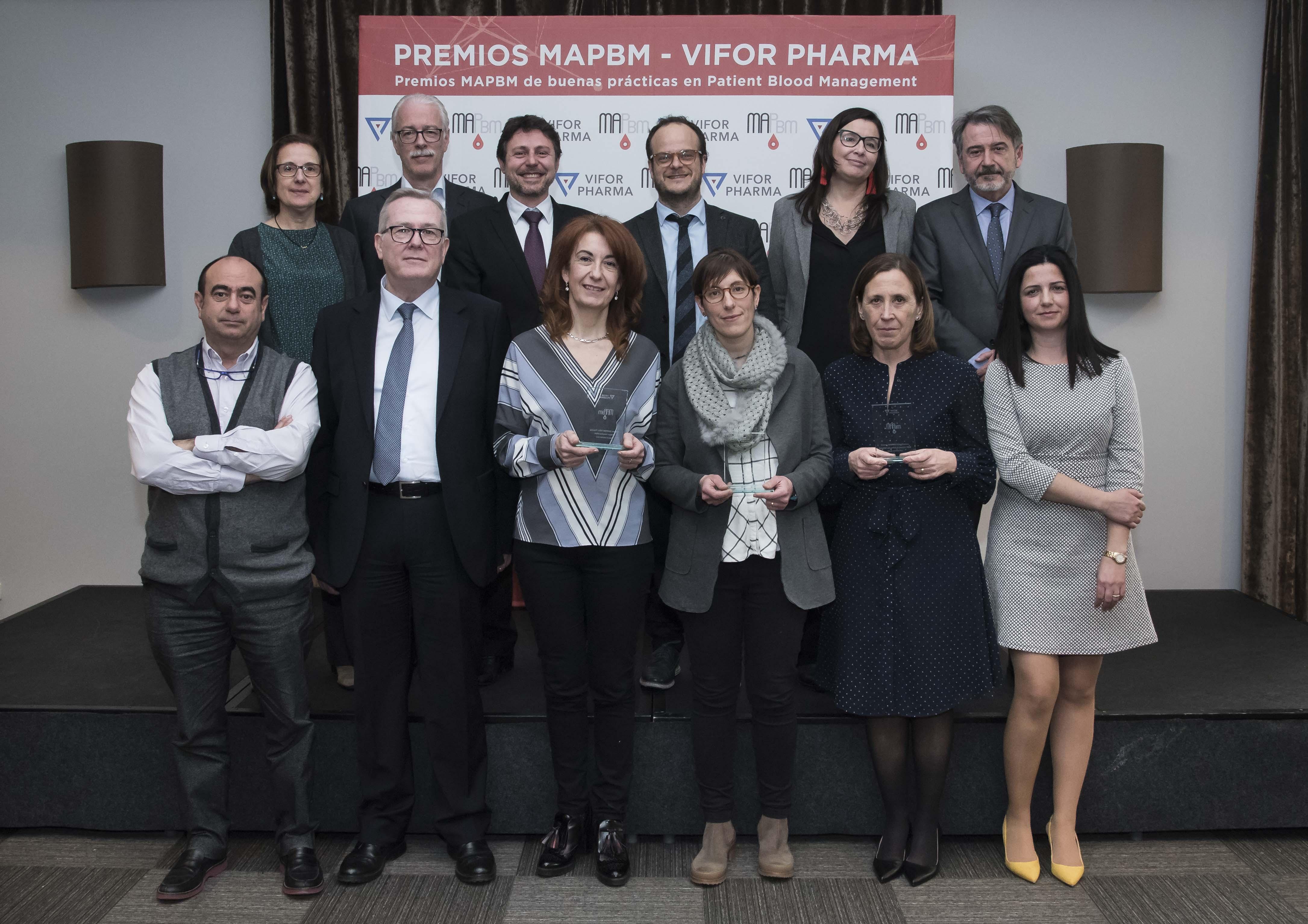 El Clínico de Valladolid, Hospital de Denia (Marina y Salud) y consorci corporació sanitària Parc Taulí de Sabadell, premiados por su buena práctica y resultados en el manejo de sangre del paciente