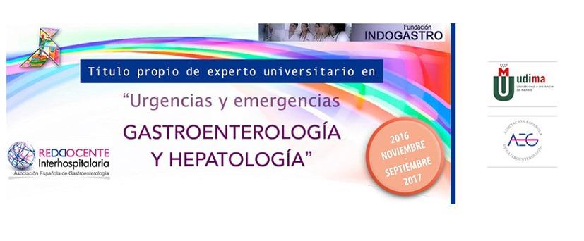 Logo Urgencias y emergencias gastroenterología y hepatología